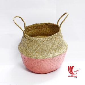 belly seagrass baskets have many uses