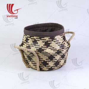 New Style Belly Seagrass Basket