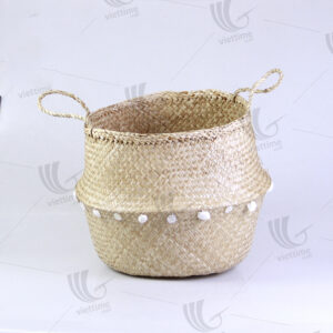 Seagrass Belly Basket sku C00005