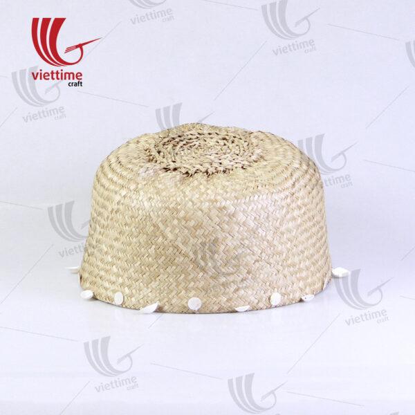 Dandy Tassel Belly Seagrass Basket
