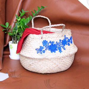 Seagrass Belly Basket sku C00006