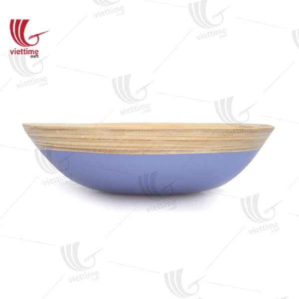Stylish Lacquer bamboo Salad bowl
