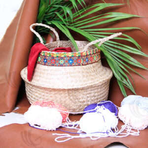 Seagrass Belly Basket sku C00001