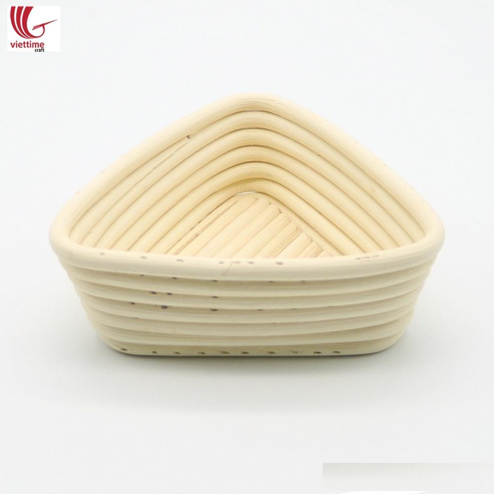 Triangle Banneton Bread Basket, Bread proofing basket/ Viettimecraft JSC