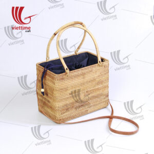 Korean Style Rattan Handbag