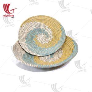 Seagrass Decorative Plate Set