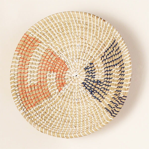 Seagrass Wall Hanging Plate sku C00028