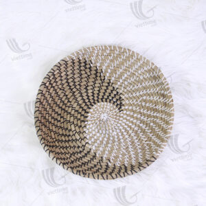 Seagrass Wall Hanging Plate sku C00015