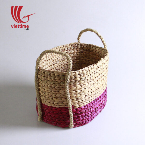 Water Hyacinth Storage Basket Set