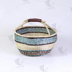Seagrass Bolga Basket sku C00034