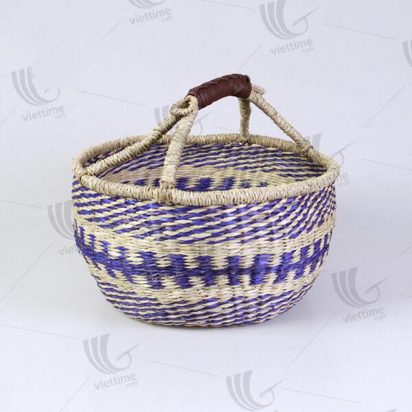 Seagrass Bolga Basket sku C00056