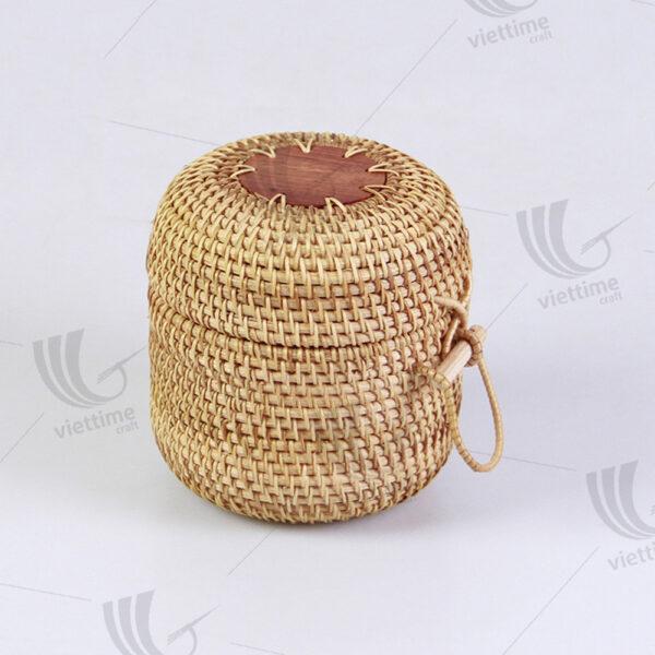 Rattan Storage Basket sku M00622