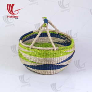 Stripes Bolga Market Basket