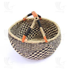 Seagrass Bolga Basket sku C00033