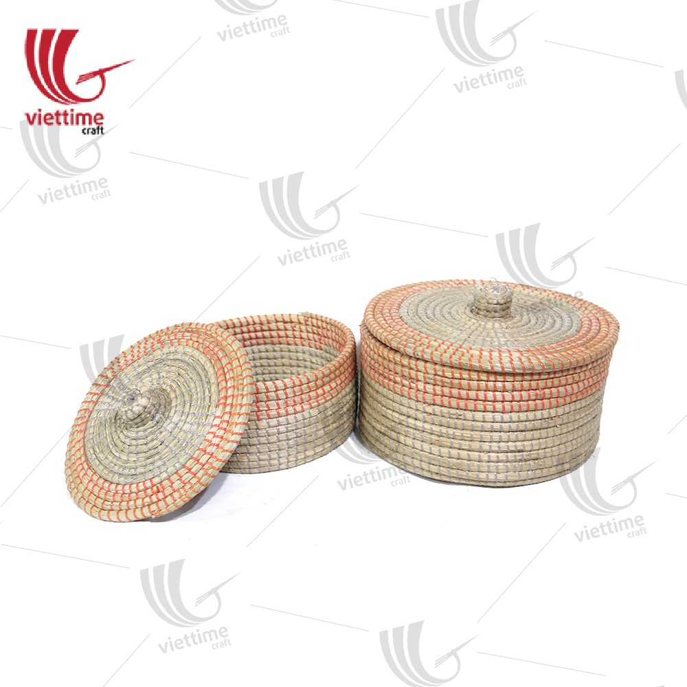 Seagrass With Plastic String Box Set wholesale/ Viettime Craft