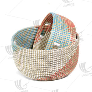 Seagrass Storage Basket sku C00035