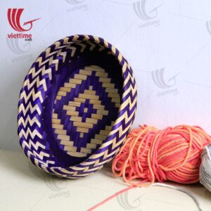 Beautiful Weaving Bamboo Tray