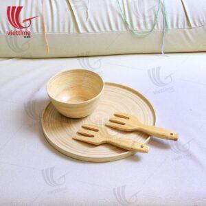 Premium Kitchen Cooking Bamboo Set