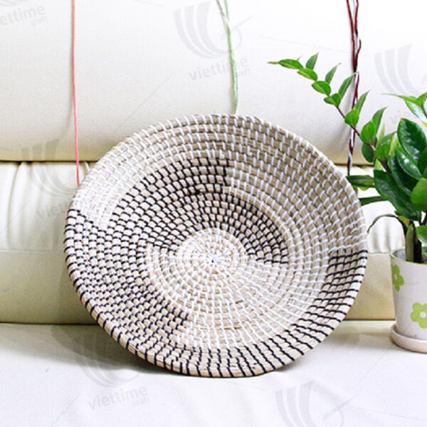 Seagrass Wall Hanging Plate sku C00024