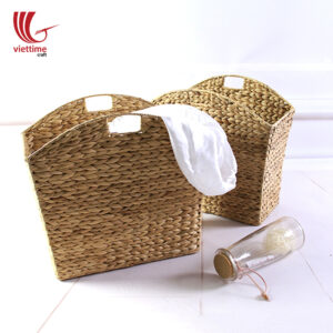 Water Hyacinth Storage Basket Set