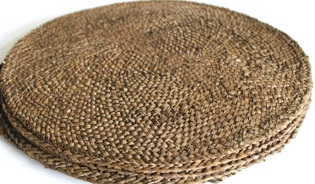 Seagrass Placemat Made From Natural Material In Vietnam