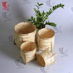 Natural Woven Bamboo Basket Set