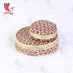 Round Weaving Bamboo Box Set