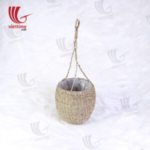 Home Decor Seagrass Hanging Planters
