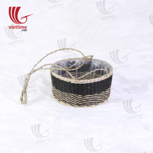 Seagrass Woven Potted Plants Hanging Planters