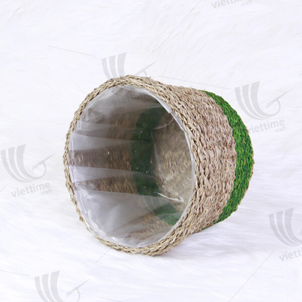 Seagrass Pot Plant Holder sku C00097