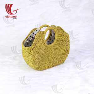 Beautiful Yellow Water Hyacinth Shopping Bag