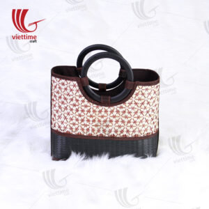 Vintage Style Pattern Bamboo Handbags