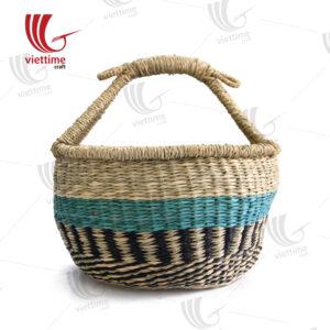 Useful Seagrass Bolga Basket Wholesale