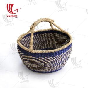 Violet Seagrass Bolga Basket Wholesale