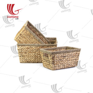 Large Water Hyacinth Bin Set