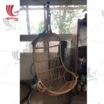 Hanging Rattan Chair With Stand