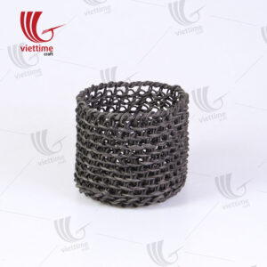 Unique Black Paper Storage Basket