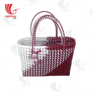 Useful Shopping Plastic Basket Bag