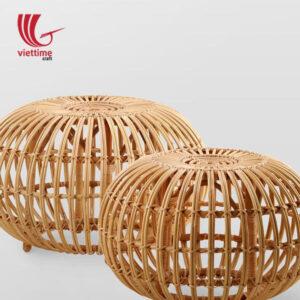 Handmade Ottoman Rattan Chair