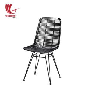 Tall Wicker Bar Stool Rattan Chair
