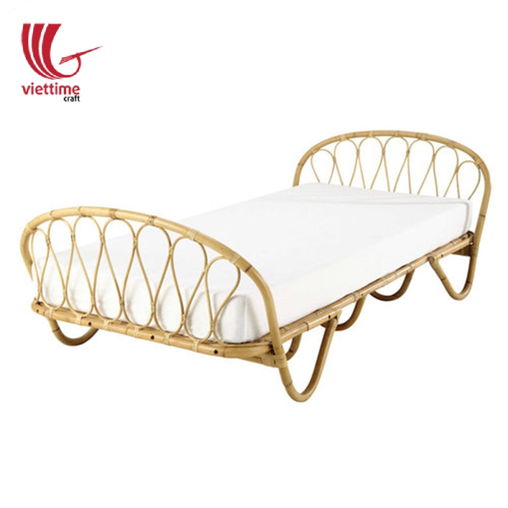 Single Rattan Bed Frame Wholesale /Wholesale Viettime Craft