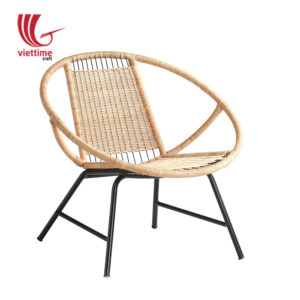 Relaxing Outdoor Round Rattan Chair