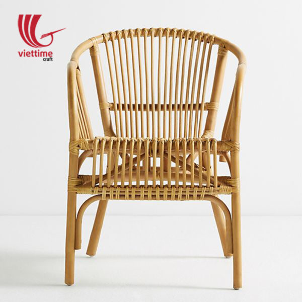 Natural Comfortable Rattan Armchair