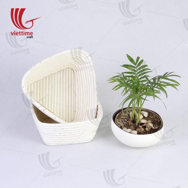 Set Of 2 Shape Banneton Bread Proofing Basket