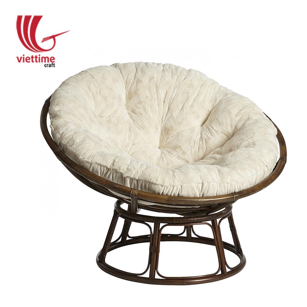 Gentil Indoor Round Rattan Chair Frame