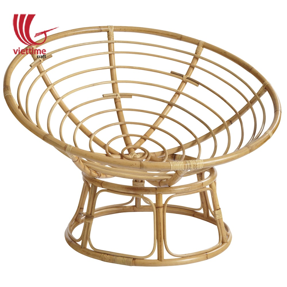 Indoor Round Rattan Chair Frame Wholesale/ Viettime Craft