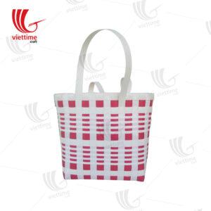 Available Shopping Plastic Basket HandBag
