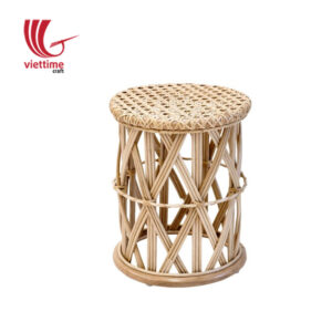 Big Children Stool Rattan Chair