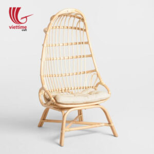 Vintage Triangle Rattan Chair