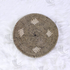 Seagrass Wall Hanging Plate sku C00227